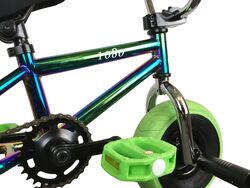 1080 Mini Freestyle BMX - Jet Fuel/Chrome/Green 4 Thumbnail