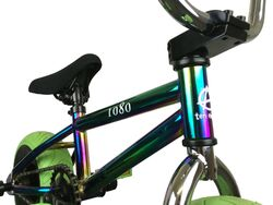 1080 Mini Freestyle BMX - Jet Fuel/Chrome/Green 5 Thumbnail
