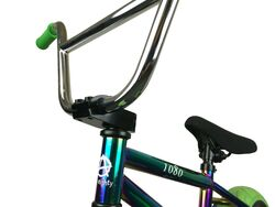 1080 Mini Freestyle BMX - Jet Fuel/Chrome/Green 6 Thumbnail