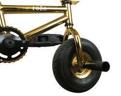 1080 Mini Freestyle BMX - Gold 6 Thumbnail