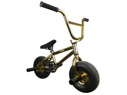 1080 Mini Freestyle BMX - Gold 1 Thumbnail