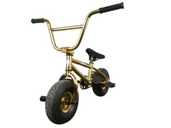 1080 Mini Freestyle BMX - Gold 2 Thumbnail