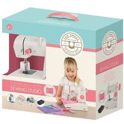Great British Sewing Bee Kids Training Starter Sewing Machine Studio - White 1 Thumbnail