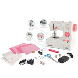 Great British Sewing Bee Kids Training Starter Sewing Machine Studio - White Thumbnail