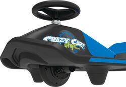 Razor® Crazy Cart Shift™ - Black/Blue 4 Thumbnail