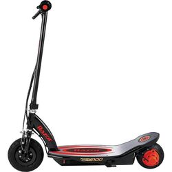 Razor® Powercore™ E100™ Kids Electric Scooter, Aluminium Deck - Black/Red 1 Thumbnail