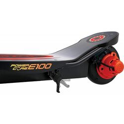 Razor® Powercore™ E100™ Kids Electric Scooter, Aluminium Deck - Black/Red 2 Thumbnail