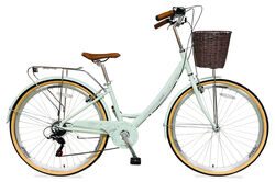 Tiger Traditional Ladies Heritage Dutch Style Bicycle, 700c, 7 Speed - Mint Thumbnail