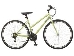 Coyote Prima 700c Wheel 18 Speed Ladies Urban City Bike 18