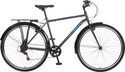 British Eagle Helix Mens Hybrid Trekking Bike - 6 Speed, 700c Thumbnail