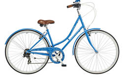 Cambridge Plush Blue Heritage Bike