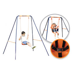 Hedstrom Deluxe 2-in-1 Playground Swing