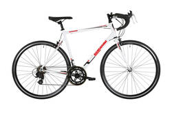 Barracuda Corvus Mens Road Racing Bike White - Alloy Frame - 14 Speed, 700c Thumbnail