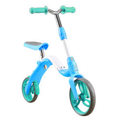 AEST Kids 2-In-1 Convertible Kick Scooter And Balance Bike - Steel Frame B02 Thumbnail