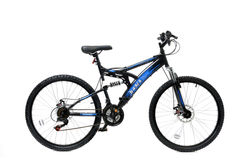 Basis 1 FS Mountain Bike Black Blue