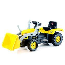 Dolu Tractor Pedal Ride On Yellow