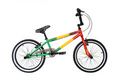 Rooster Jammin Rasta Freestyle BMX Bike, Green/Yellow/Red - 9.5