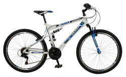 Boss Astro Mens Full Suspension Mountain Bike , 26
