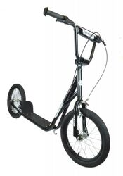 1080 Adults Teens Black Scooter