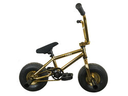 1080 Mini Freestyle BMX - Gold Thumbnail