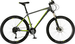 Claud Butler Cape Wrath XC Mens Mountain Bike - 650B Wheel, 27 Speed - Graphite/Lime Thumbnail