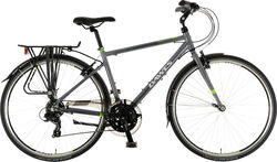 Dawes 2020 Mojave Mens Commuter Hybrid Bike, 700c Wheel, 21 Speed - Dark Grey Thumbnail