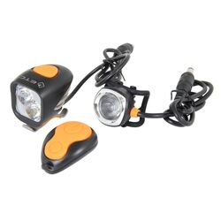 ETC Mizar 2000 Lumen LED Bike Light Combo Set Thumbnail