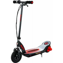Razor® Powercore™ E100™ Kids Electric Scooter, Aluminium Deck - Black/Red Thumbnail