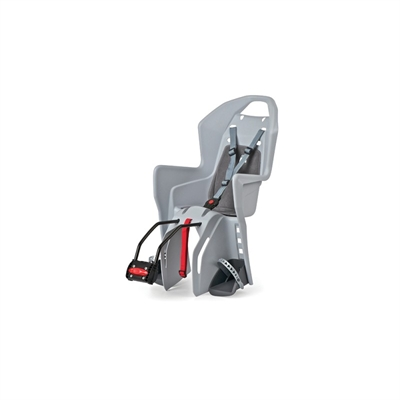 Polisport Koolah Childs Bicycle Rear Rack Seat Grey