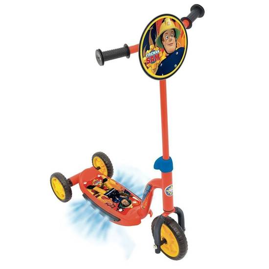 Buy A Fireman Sam Rescue Tri Scooter From E Bikes Direct