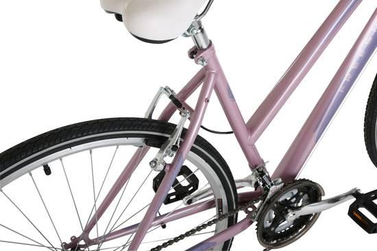 Freespirit City Commute Pink Ladies Hybrid Urban Bike - 18 Speed, 700c