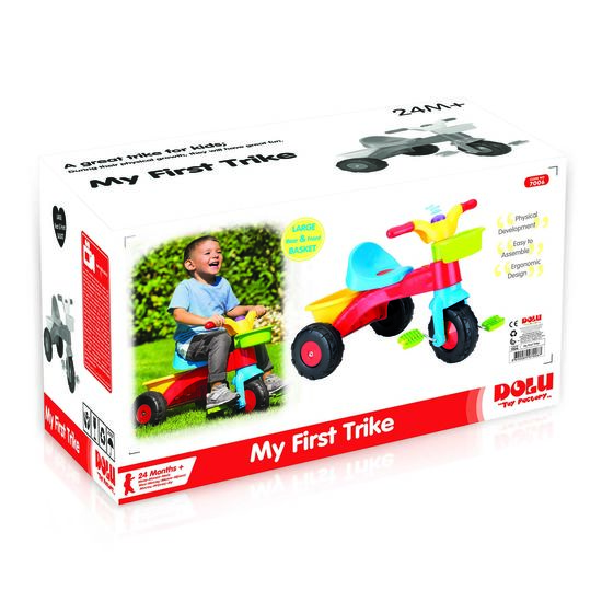 ed32a9d7231 Buy a Dolu My First Trike with Handle from E-Bikes Direct Outlet