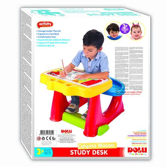Buy A Dolu Kids Study Desk Multicolour From E Bikes Direct