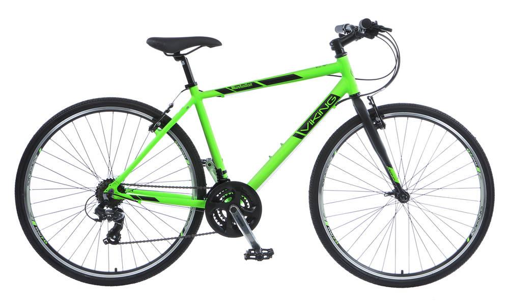 5597ec22441 Buy a Viking Manhattan Mens Hybrid Bike from E-Bikes Direct Outlet
